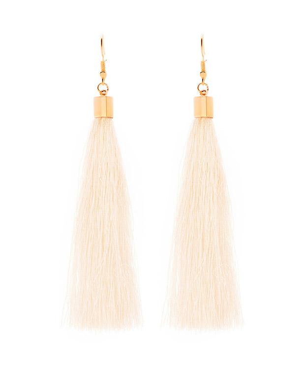 Long Fringe Earrings