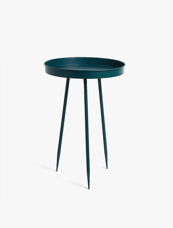 Green Metal Table