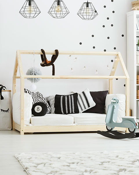 Children's Bed. Modern Style